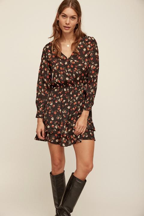 Vestido Mini Boho Estampado Floral de eseOese en 21 Buttons