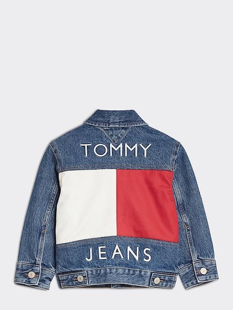 Chaqueta Tommy Jeans Con Estampado Trasero