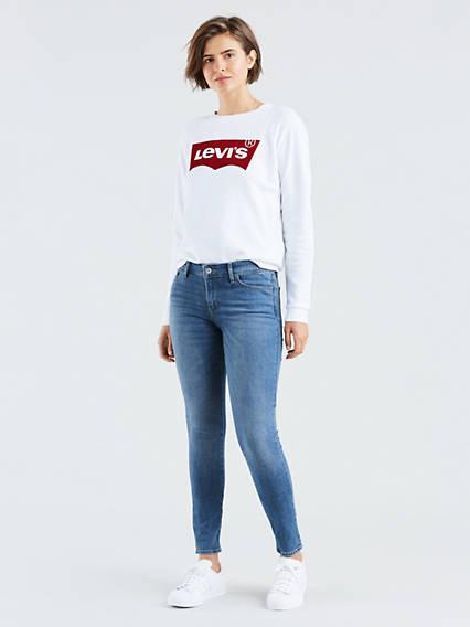 711™ Skinny Jeans Lavado Medio / Indigo Rays de Levi's en 21 Buttons