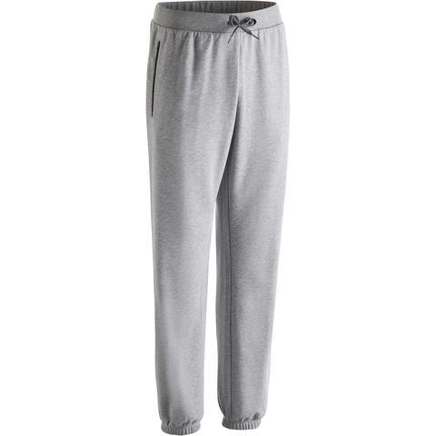 diseñador de moda pensamientos sobre el precio más barato Pantalón Chándal Gimnasia Pilates Domyos 500 Regular Hombre Gris ...