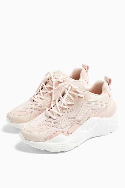 Womens Cancun Blush Pink Chunky