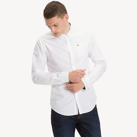 Camicia Regular Fit In Cotone de Tommy Hilfiger en 21 Buttons