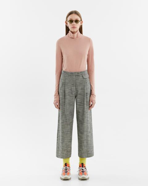 Pantalón Pinzas Cuadros de Bimba Y Lola en 21 Buttons