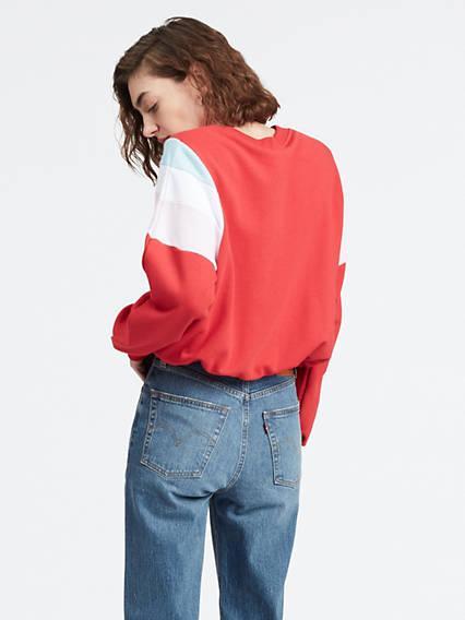 Florence Crew Rojo / Brilliant Red