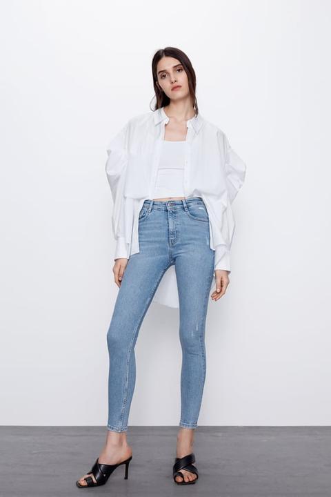 Jeans Hi Rise Skinny Vintage