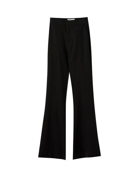 Pantalón Campana Negro Básico
