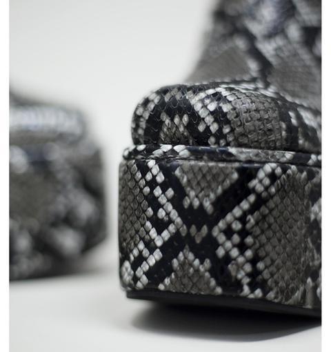 Coffin Grey Snake By Jeffrey Campbell