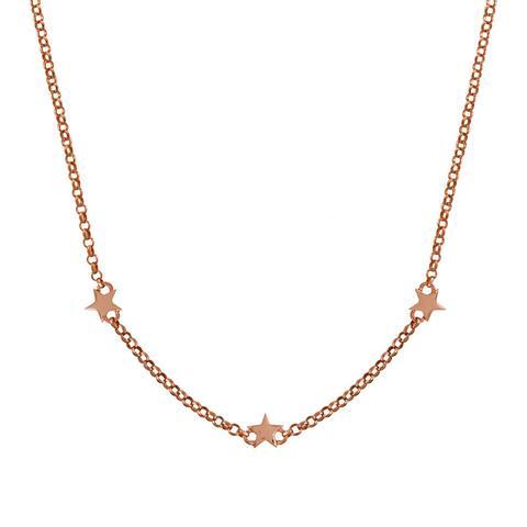Colgante Estrellas Mini Plata Recubierta Oro Rosa de Aristocrazy en 21 Buttons