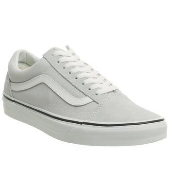 Vans Old Skool Gray Dawn True White