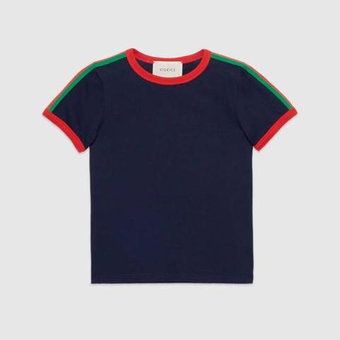Camiseta Infantil Con Kingsnake de Gucci en 21 Buttons