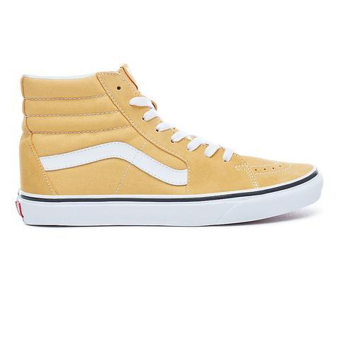 Vans Chaussures Sk8 hi (ochre true White) Homme Jaune from Vans on 21 Buttons