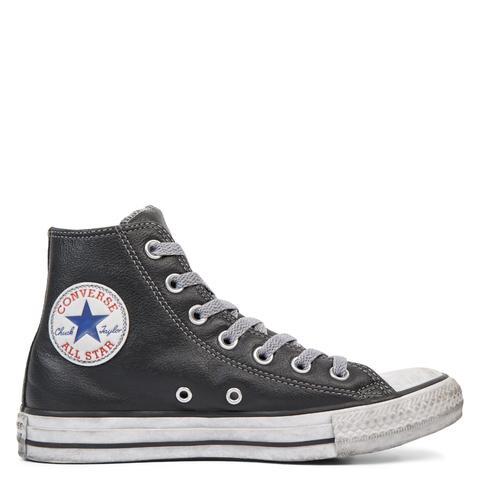 Converse Chuck Taylor All Star Leather Vintage Star Studs High Top de Converse en 21 Buttons