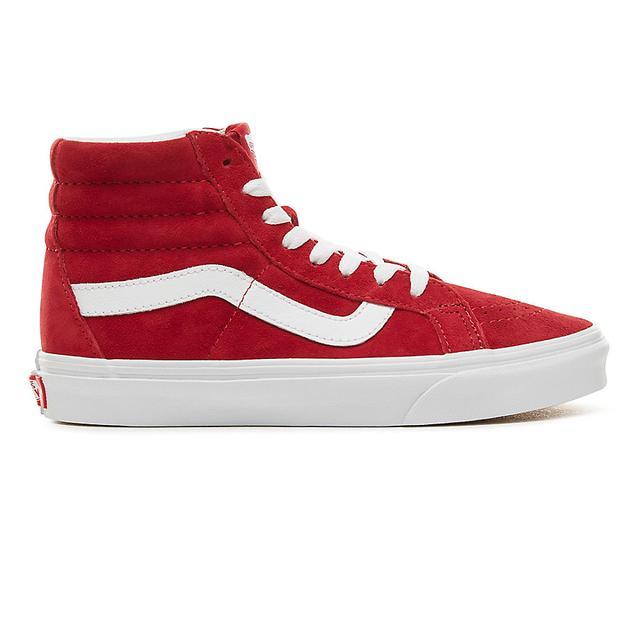 chaussures vans femmes rouge