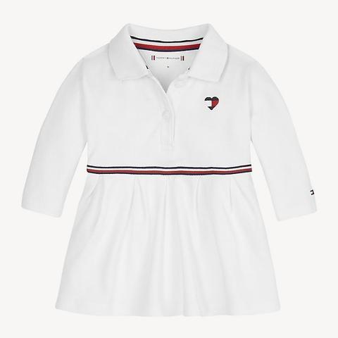 Vestido Tipo Polo De Bebé De Tommy Hilfiger En 21 Buttons