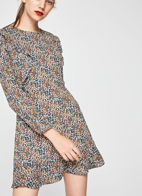Vestido Estampado Floral Tatin