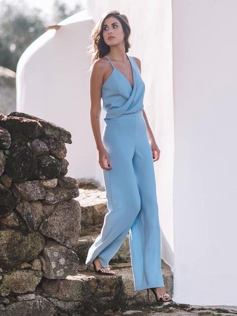 Blue Jumpsuit de KAOA en 21 Buttons