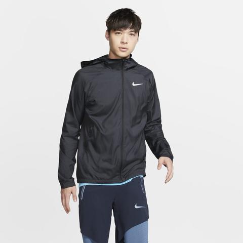 Nike Essential Chaqueta De Running Con Capucha - Hombre - Negro de Nike en 21 Buttons