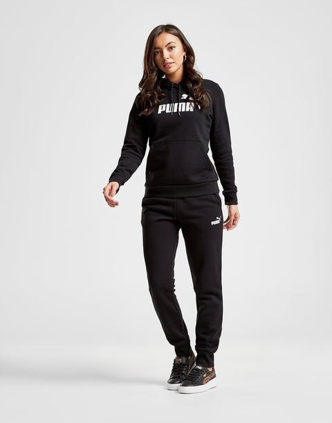 Puma Pantalón De Chándal Core Fleece, Negro