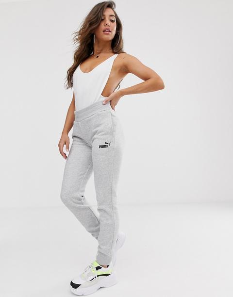 Pantalones De Chandal Grises Essentials De Puma From Asos On 21 Buttons