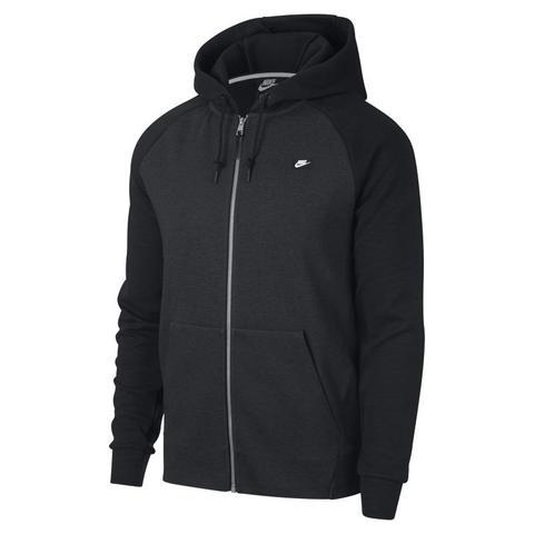 info for 0fc6b 3ad19 Nike Sportswear Optic Herren-hoodie Mit Durchgehendem Reißverschluss -  Schwarz from Nike on 21 Buttons