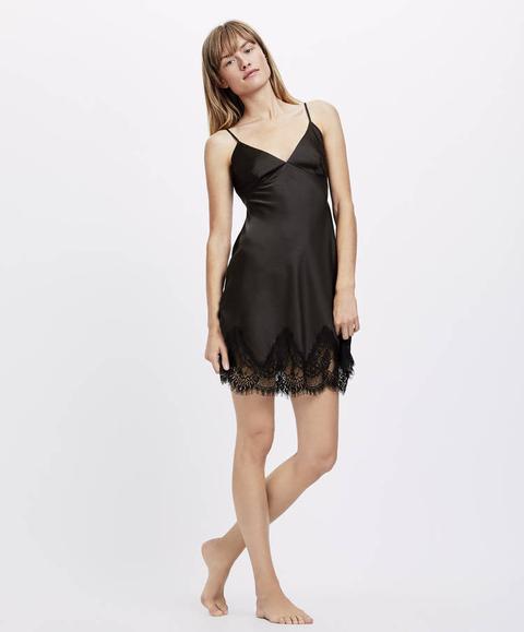 aspetto dettagliato materiali di alta qualità bello e affascinante Camicia Da Notte Con Bretelle Essential Lace from Oysho on 21 Buttons
