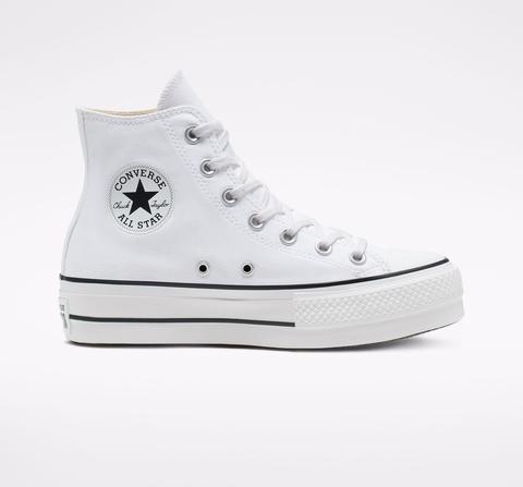 Converse Chuck Taylor All Star Platform High Top White