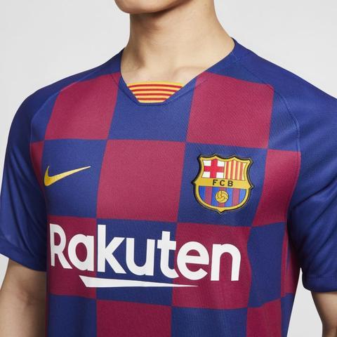 Fc Barcelona 2019/20 Stadium Home Camiseta De Fútbol - Azul