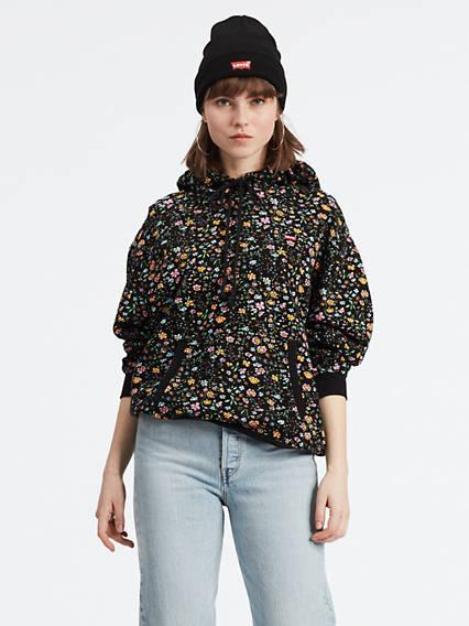 Unbasic Hoodie Multicolor / Floral Meteorite de Levi's en 21 Buttons