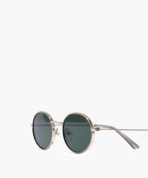 Wire-rimmed Sunglasses