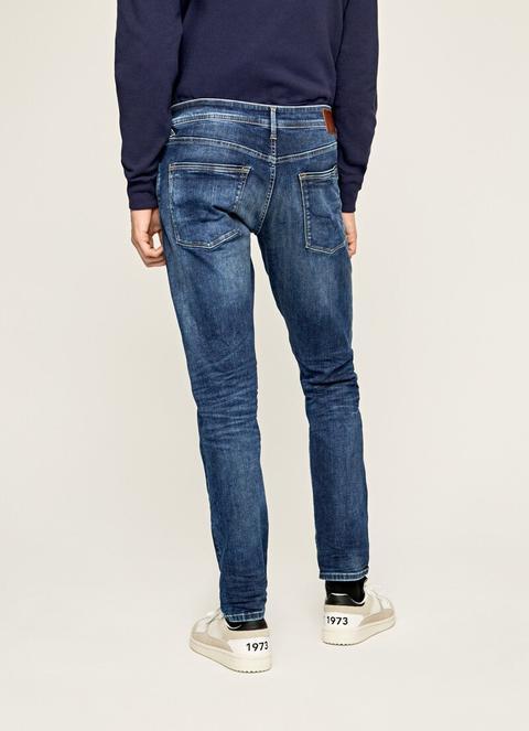 Stanley Taper Fit Regular Waist Jeans