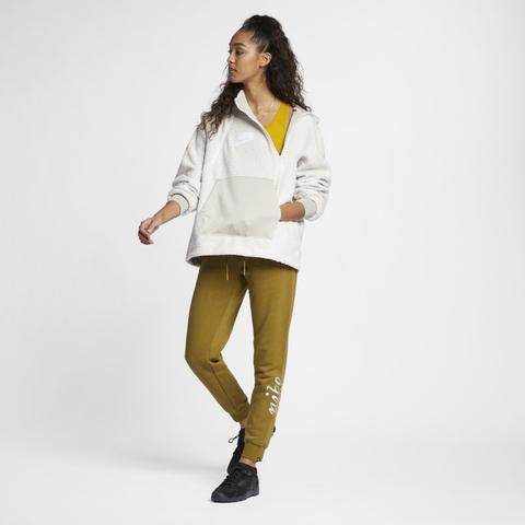 vari colori 16080 a201c Felpa Pullover In Sherpa Con Cappuccio Nike Sportswear Nsw - Donna - Cream  from Nike on 21 Buttons