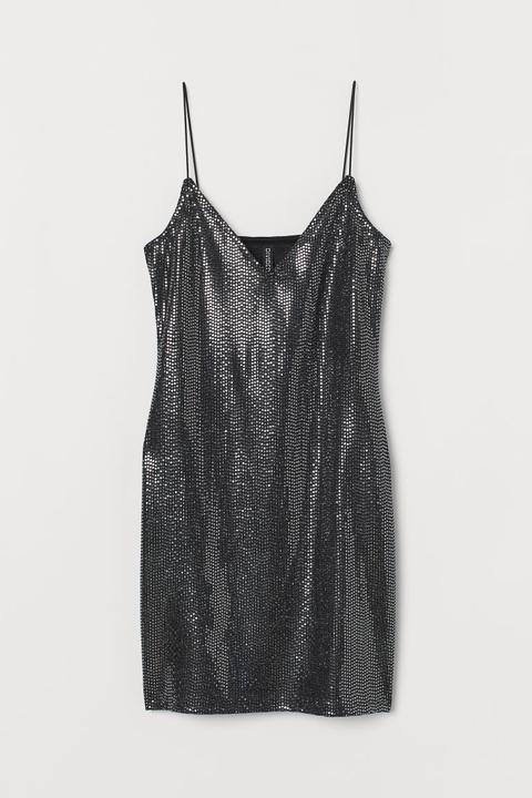 Vestido Corto - Negro