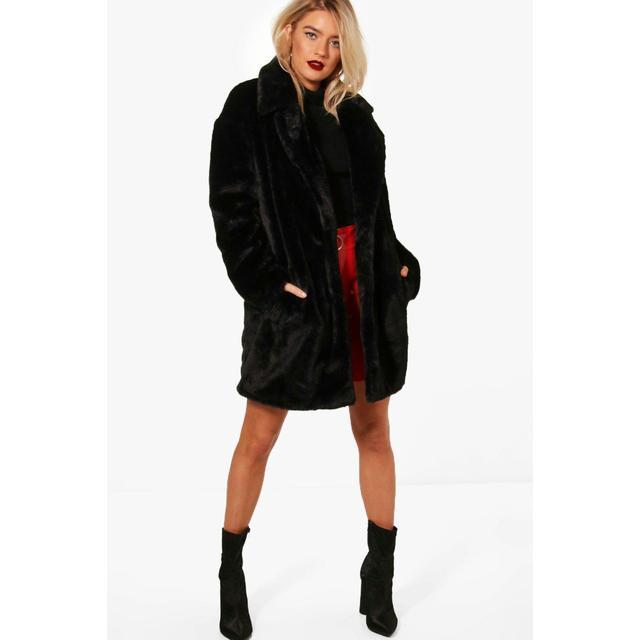 Femmes surdimensionné col veste manteau