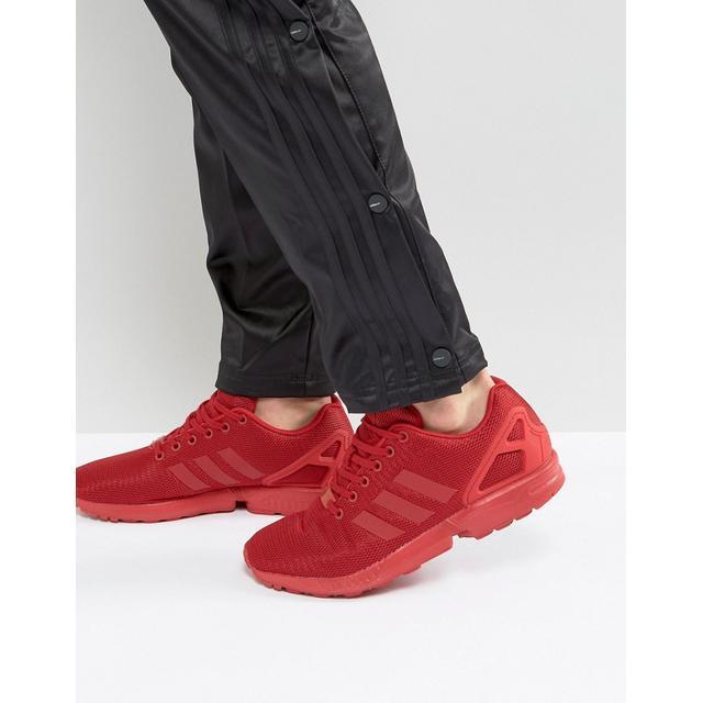 adidas rosse zx flux