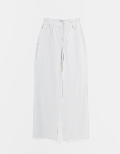 Pantalón Sarga Wide Leg Fluido