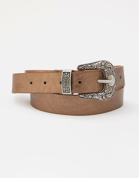 Cinturón Cowboy Metalizado