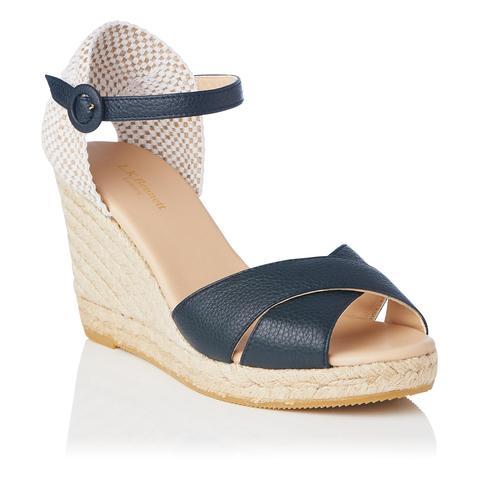 Mango Sandals Leather De En Buttons 21 nvNw8m0