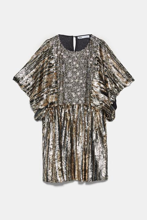 Vestido Lentejuelas Edición Limitada de Zara en 21 Buttons