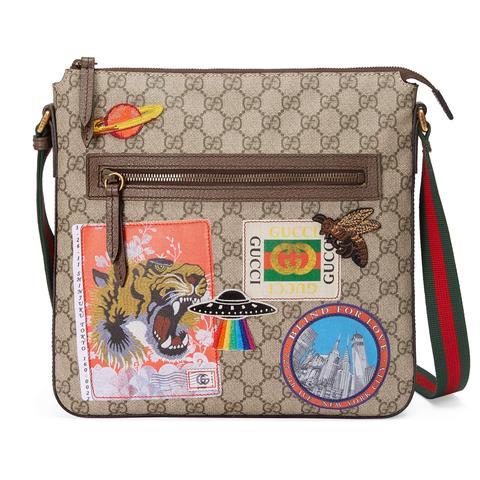 vari colori ad228 3f0b3 Borsa A Tracolla Gucci Courrier In Tessuto Gg Supreme from Gucci ...