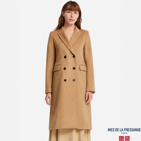 Ines - Manteau En Laine Mélangée Femme