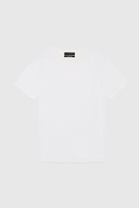 Basic-t-shirt Im Easy-fit
