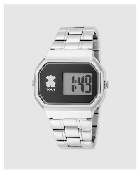 Tous - Reloj De Mujer D-bear Digital De Acero En Color Plata de El Corte Ingles en 21 Buttons