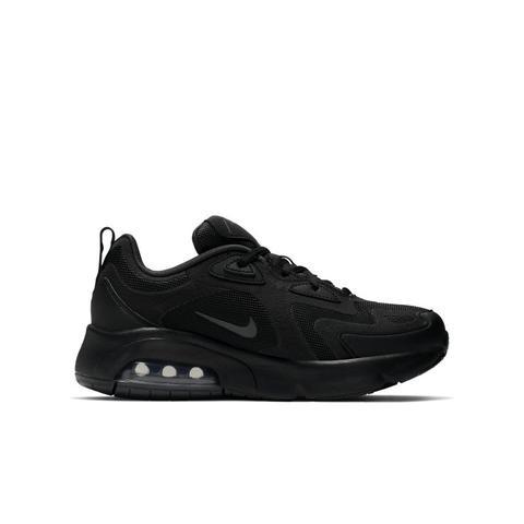 Scarpa Nike Air Max 200 - Ragazzi - Nero