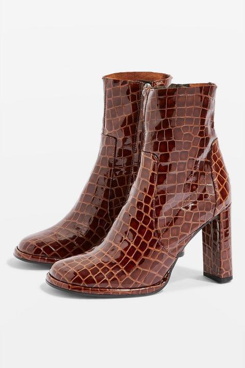 Hattie High Ankle Boots de Topshop en 21 Buttons