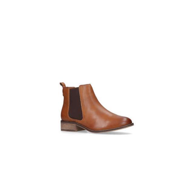 Carvela Storm - Tan Leather Flat