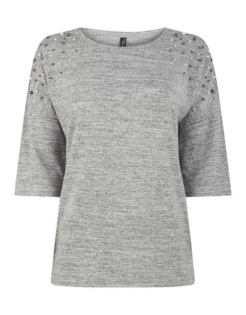 Damen Shopper Mit Bommel Aus Webpelz from Takko Fashion on