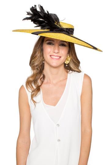 Pamela Girasol Feathers de La Mas Mona en 21 Buttons