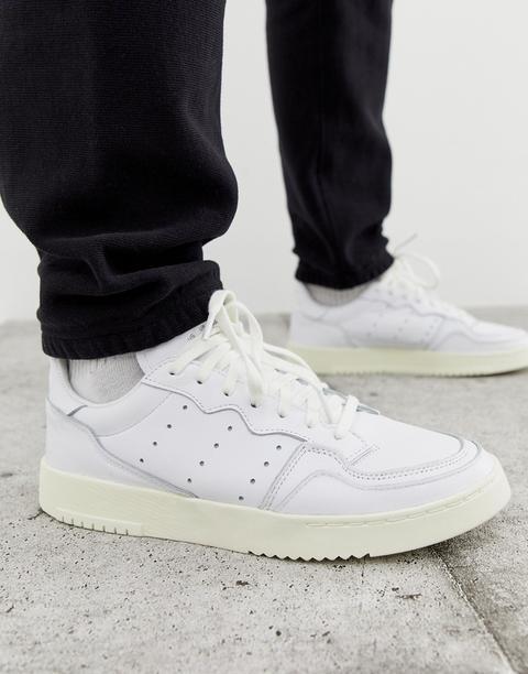 Zapatillas De Deporte Blancas Supercourt Para La Colección Home Of Classics De Adidas Originals-blanco