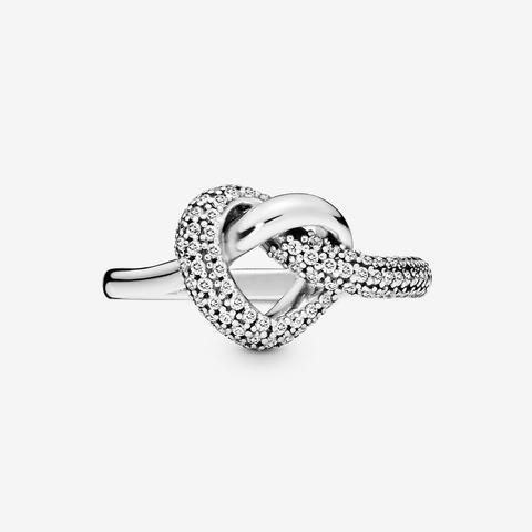 anello pandora con il cuore