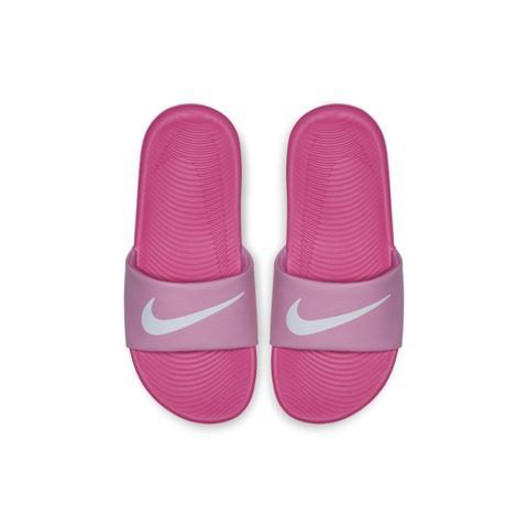 Claquette Nike Kawa Pour Jeune Enfant/enfant Plus Âgé - Rose from Nike on  21 Buttons